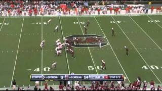 "Cordy Glenn vs South Carolina 2010 ""Playing Left Guard"""