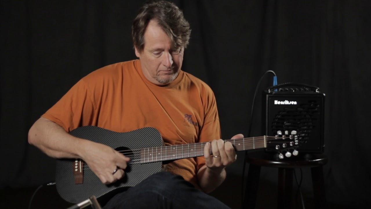 Gear Demo: KLOS Carbon Fiber Acoustic Electric Travel Guitar