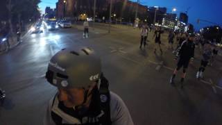 Elektro Skateboards beim Skate by Night - Berlin