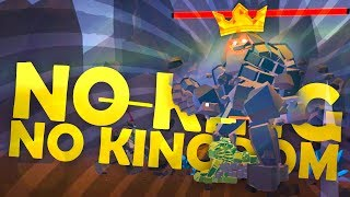 FIGHTING THE GIANT ROCK MONSTER KING!!! - No King No Kingdom (Game / Gameplay)