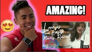 Video Maris Racal - Love Is Easy (Official Music Video) REACTION! LONG TIME NO SEE.... MP3, 3GP, MP4, WEBM, AVI, FLV September 2018