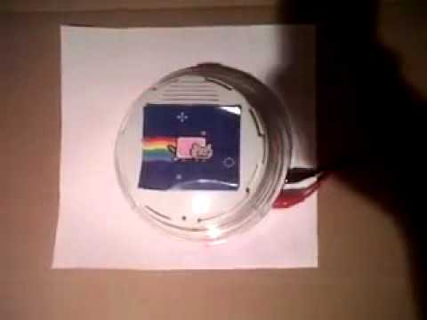 Nyan Cat Fire Alarm