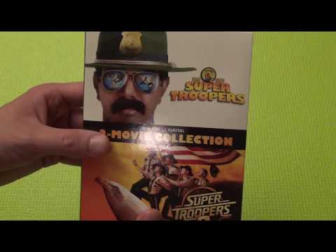 Super Troopers 2-Movie Collection Blu-Ray Unboxing