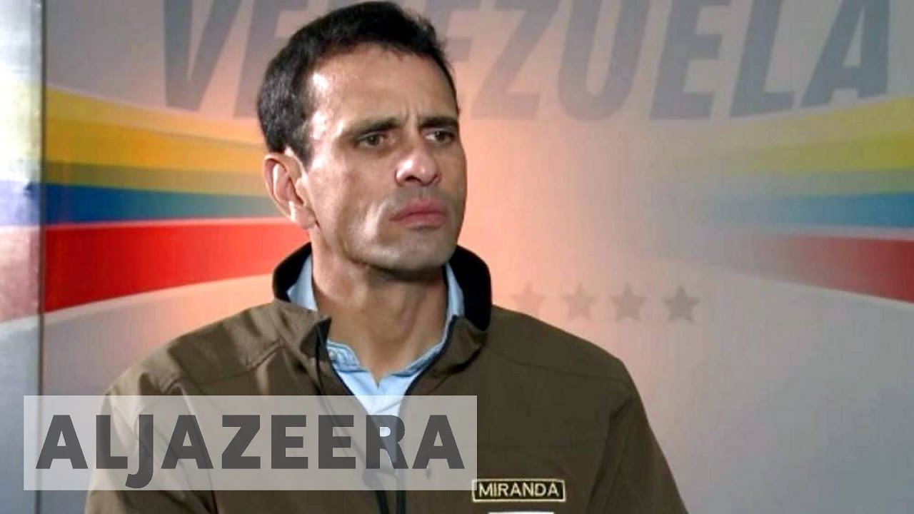 Henrique Capriles: Venezuela is not all about Maduro – Talk to Al Jazeera