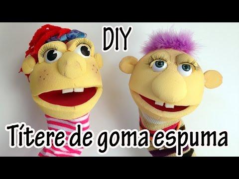 Hacer marionetas gomaespuma videos videos relacionados - Goma espuma manualidades ...