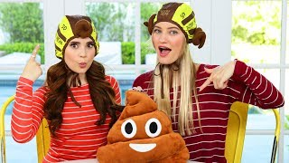 Playing this insane plush poop throwing game with Ro Watch the video on Ro's Channel: https://youtu.be/0O97z9rNt1s ...