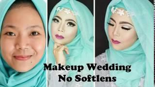 Download Video Makeup Wedding Ala Mua Khadijah | Makeup Wedding No Softlens MP3 3GP MP4