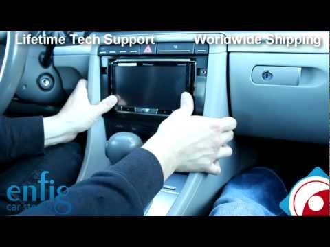 Audi A4/S4 07-08 Radio Installation Pioneer AVH-P8400BH
