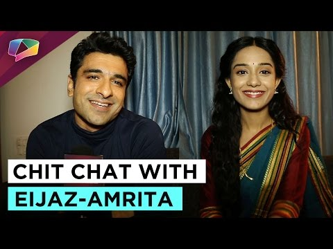 In conversation with Amrita Rao and Eijaz Khan!