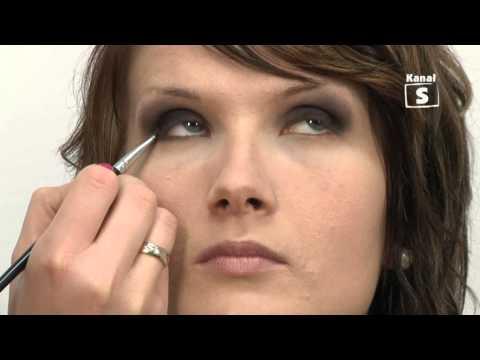 Szkoła wizażu- makijaż przydymiony - smokeyeye