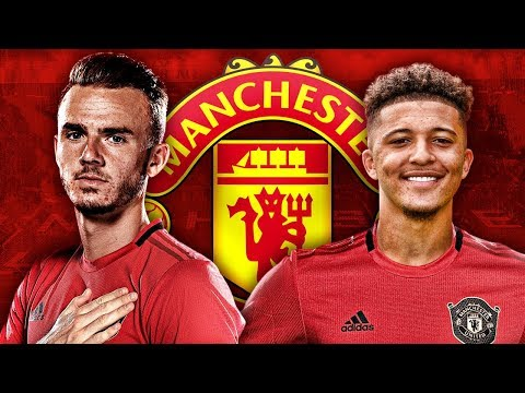 Video: Manchester United Target Jadon Sancho & James Maddison Transfers For January! | Transfer Talk
