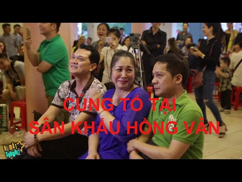 Minh Nhí, Hữu Châu, Huỳnh Đông quậy tưng bừng trong ngày cúng tổ 2016