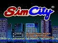 Nintendo – Sim City Opening Screen