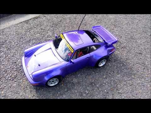 Kyosho (31318) 1/10 RC Super scale Porsche 911 Turbo GP Purple