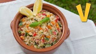 Quinoa Salad - Recipe By The Vegan Corner