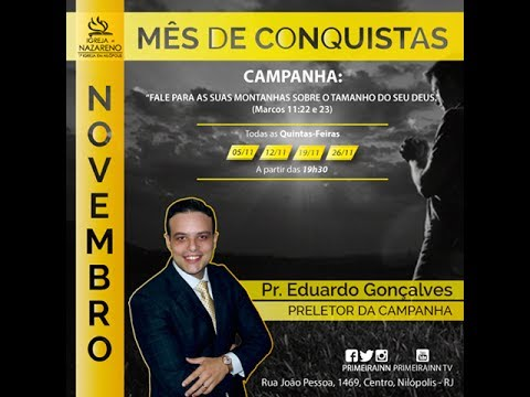 Culto On-line - 01/11/15 - Igreja do Nazareno em Nilópolis.