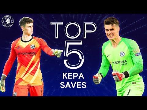 Top 5 Kepa Arrizabalaga Wonder Saves   Chelsea Tops