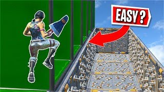 MY Level is the *EASIEST* in this Deathrun? (Fortnite Creative)