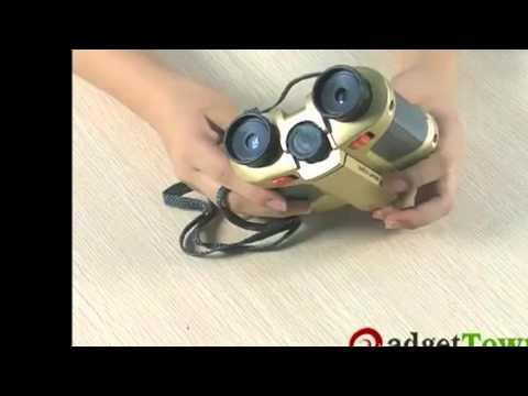 4x30mm Night Vision Surveillance Scope Binoculars with Pop up Light
