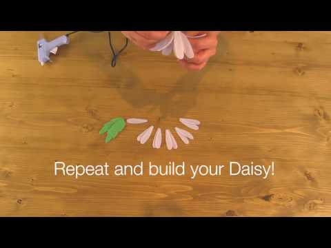 Quick Make - How to build a bloom part 2 - Daisy