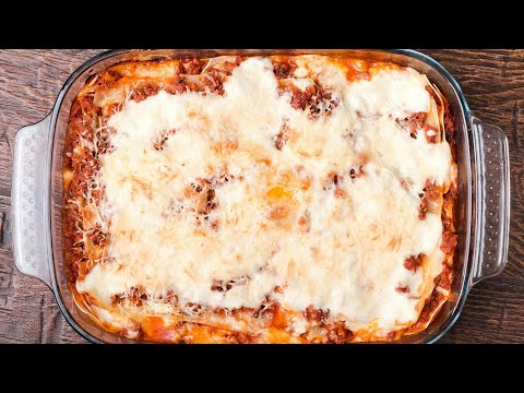 How To Make Firehouse Lasagna | Rach Cooks At Home