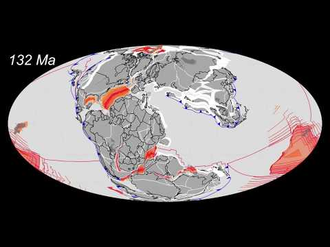 Plate Tectonics 200Ma to Today by CR Scotese