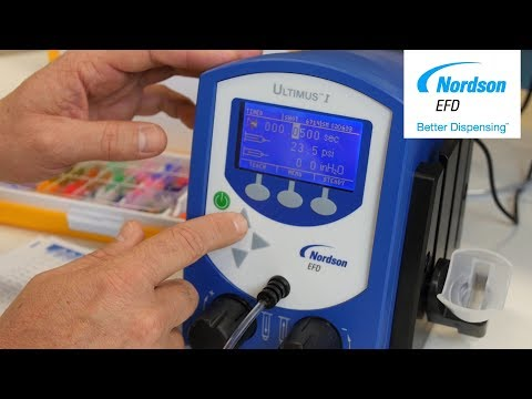 Nordson EFD: Fluid Dispenser Best Practices ─ Dispensing The Right Amount