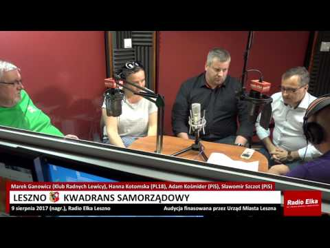 Wideo1: Leszno Kwadrans Samorządowy 10 sierpnia 2017