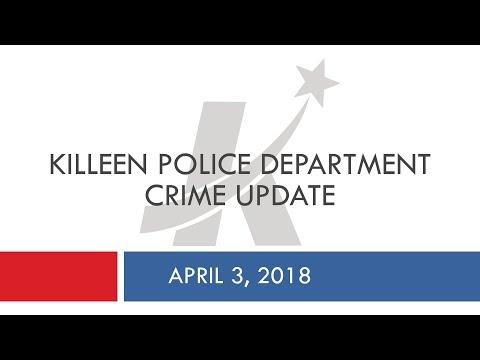 Killeen Police Department: 2018 Crime Update