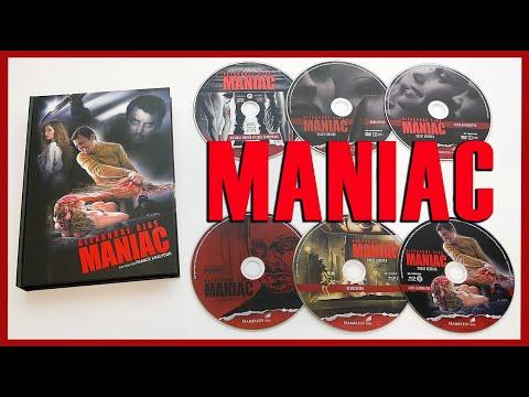 MANIAC (2012) - LIMITED 6-DISC 4K/BLU-RAY/DVD/CD MEDIABOOK COVER C UNBOXING - ALEXANDRE AJA'S MANIAC
