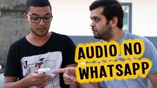 """O envio de áudio pelo whatsapp é um recurso que quase todo mundo usa. Mas temos que ter muito cuidado ao enviar um áudio, pois uma vez enviada não tem mais volta. INSCREVA-SE EM NOSSO CANAL:http://tinyurl.com/mchjssaBAIXE O NOSSO APLICATIVO PARA ANDROID:http://tinyurl.com/m3ttgjzGostou do vídeo? Da um joinha para nos ajudar!Elenco:- Ator1: Herick Gonçalves- Ator2: Dito RibeiroCréditos:- Roteiro: Dito Ribeiro- Vídeo e Edição: Dito Ribeiro- Voz no final: Éditon Silva- Direção geral: Dito RibeiroFique por dentro de tudo que acontece no Alta Voltagem, nos seguindo nas redes sociais abaixo:FACEBOOK: https://www.facebook.com/canalaltavoltagemINSTAGRAM: http://instagram.com/canalaltavoltagemTWITTER: http://www.twitter.com/canaltavoltagemSITE: http://www.canalaltavoltagem.com.br-------------------------------------------------------------------------------------Funk Game Loop e Protofunk (Kevin Mac Leod - incompetech.com)Álbum: Royalty Free""""Musics Licensed under Creative Commons """"Attribution 3.0""""http://creativecommons.org/licenses/by/3.0/Download at: http://incompetech.com/music/royalty-free/The license terms can be found here: http://incompetech.com/music/royalty-free/licenses/"""