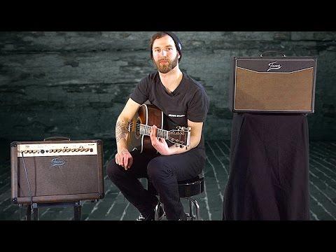 FAME AC60R Acoustic Guitar Amp Verstärker für Akustikgitarren