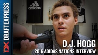 D.J. Hogg Interview from 2016 Adidas Nations