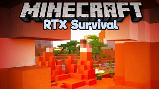 The Coolest Looking Biomes • Minecraft RTX Survival S2 [Part 4]