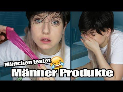 Mädchen testet Männerprodukte!