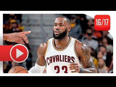 LeBron James Full Highlights vs Pelicans (2017.01.02) - 26 Pts, 7 Reb, 6 Ast, BEAST!