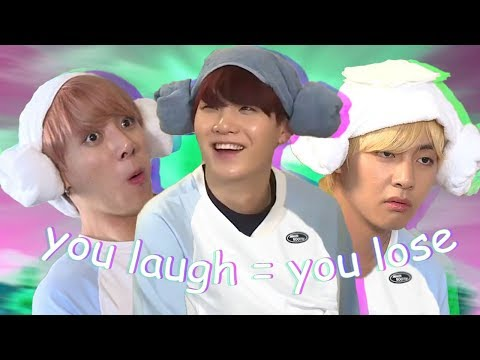 BTS - Try not to Laugh Challenge (Hard)