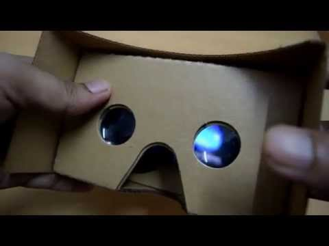 OnePlus Cardboard VR headset quick overview