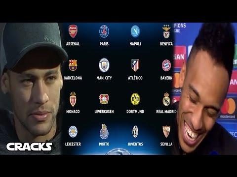 NEYMAR: CR7 es un CRACK | Recado de AUBAMEYANG a Florentino | Así se jugarían los 8vos de la UCL_Legjobb videók: Sport