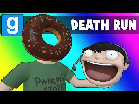 Gmod Death Run Funny Moments - Easterfools Day! (Garry's Mod) (видео)