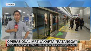 "Video Hari Pertama Operasional MRT Jakarta ""Ratangga"" MP3, 3GP, MP4, WEBM, AVI, FLV Maret 2019"
