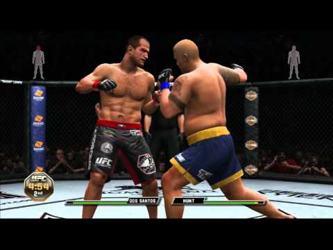 UFC Undisputed 3 gameplay - UFC Rules 3 Rounds Heavyweight.
