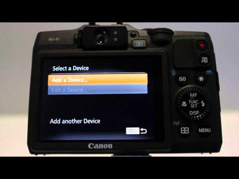 Canon Powershot G16 WiFi Setup & Demo