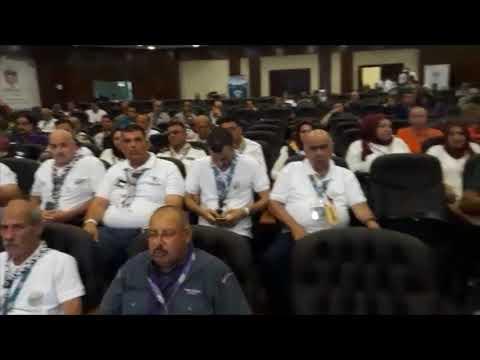رند باكير تتحدث في المؤتمر الكشفي العربي29 نيابة عن منتدى الشباب الكشفي العربي