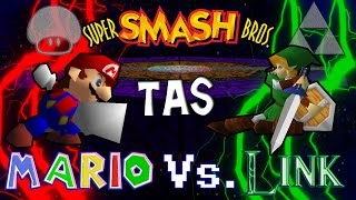 Smash 64 TAS: Mario vs Link
