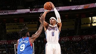 Russell Westbrook Gets 4th Straight Triple-Double (49pt/16reb/10asst)