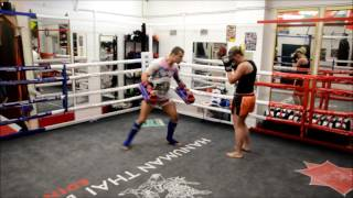 What's it like to train at Hanuman Thai Boxing? With Kay Corner