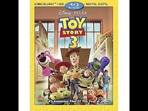 Opening To Toy Story 3 2010 Blu-Ray