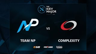 Team NP vs compLexity, Game 1, The Kiev Major NA Main Qualifiers Play-off