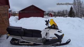 3. Skidoo Tundra 600 ACE LT 2016 test drive
